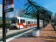 MAX light rail cars