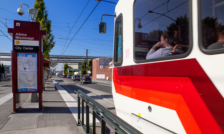 Trimet MAX light rail
